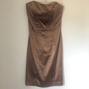 Body con stretch satin Dress